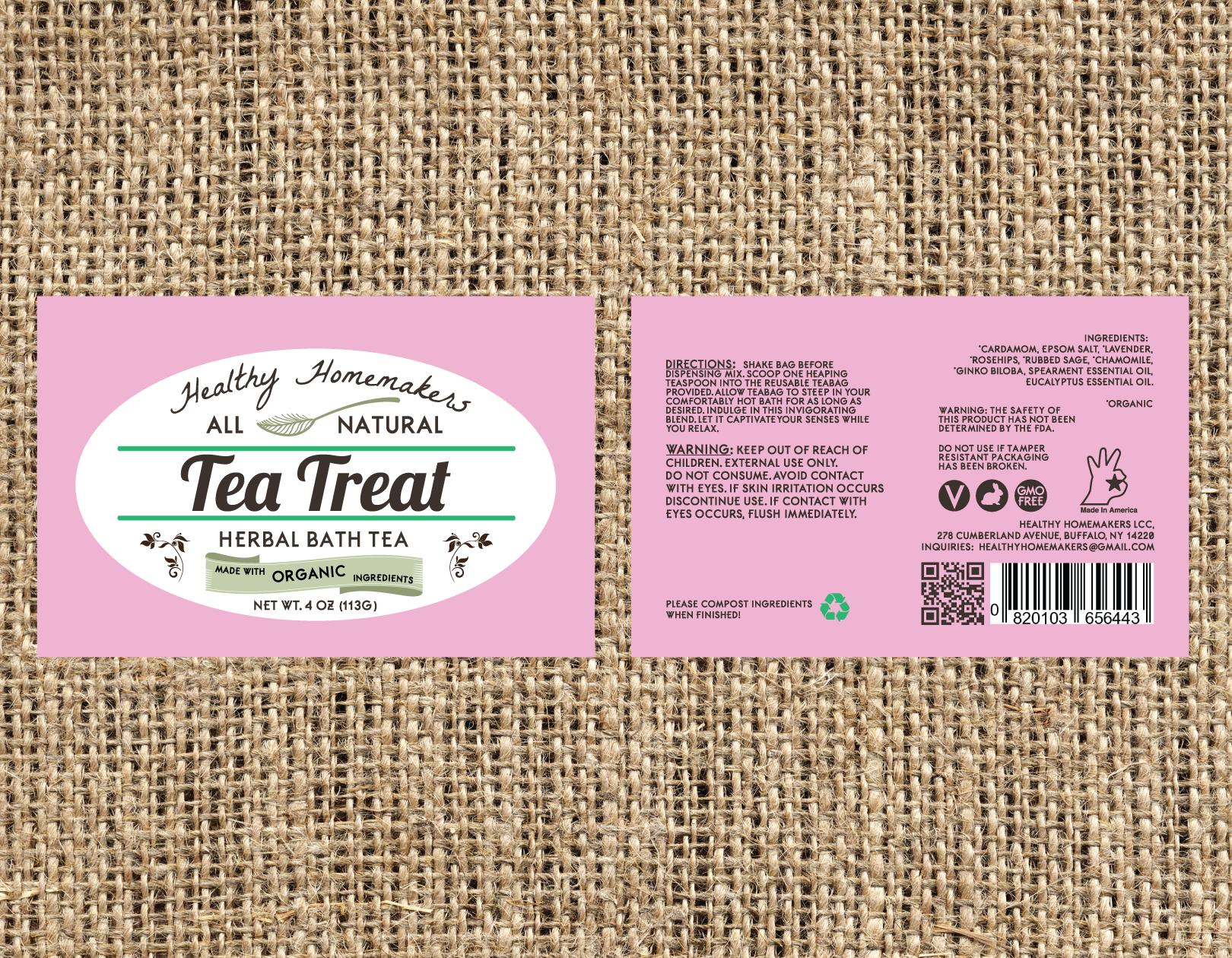 Tea Treat - Herbal Bath Tea