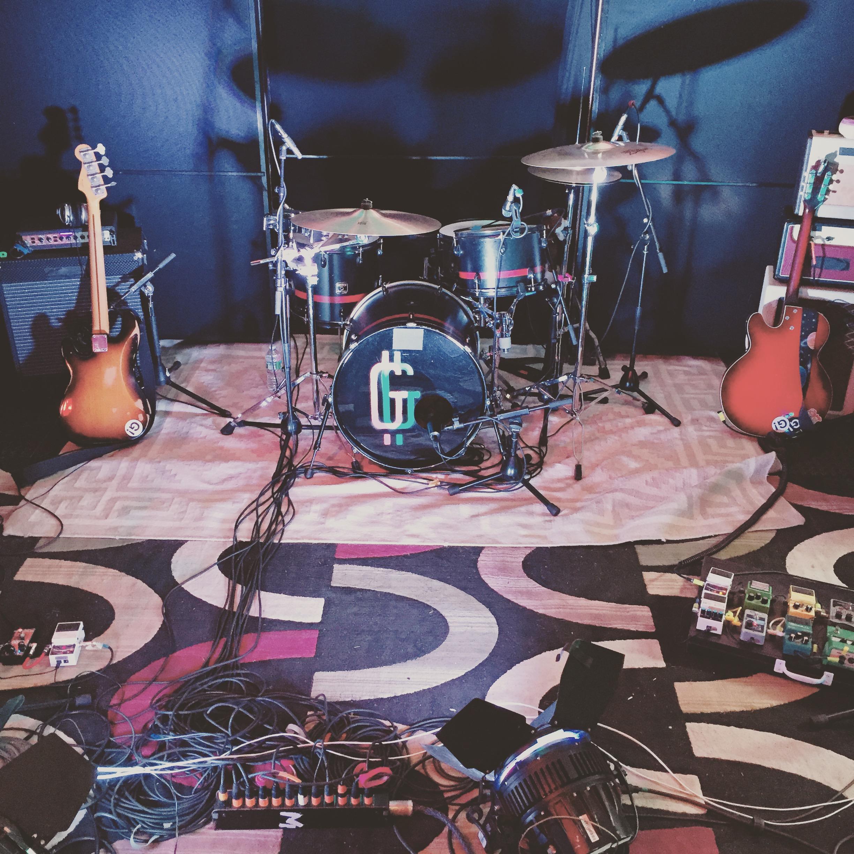 Setup for Music video shoot.