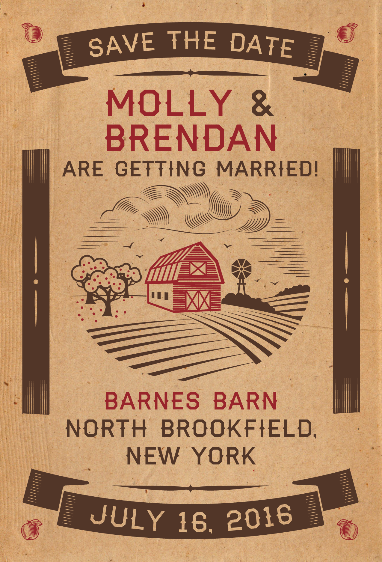 Molly & Brendan Save The Date