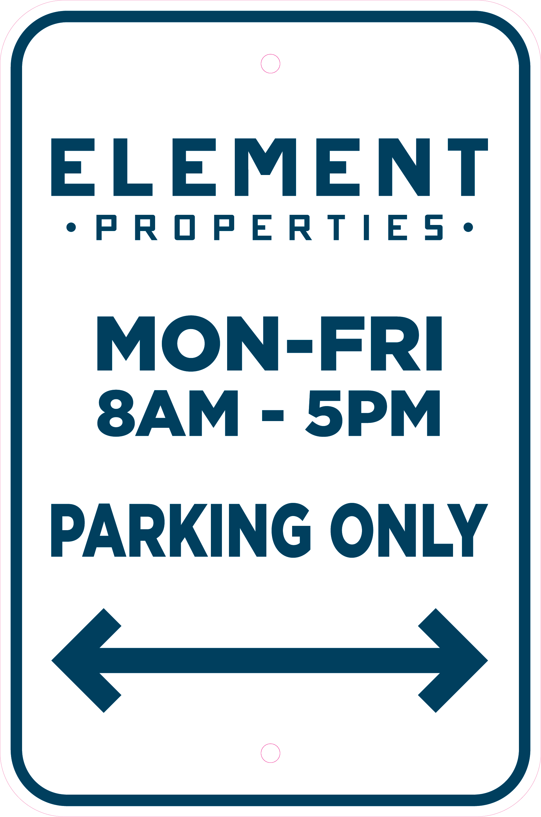 Element Properties Emily Inv. 93775 Item A 18x12 PARKING SIGNS Rev2 Proof 05-07-19-01.png