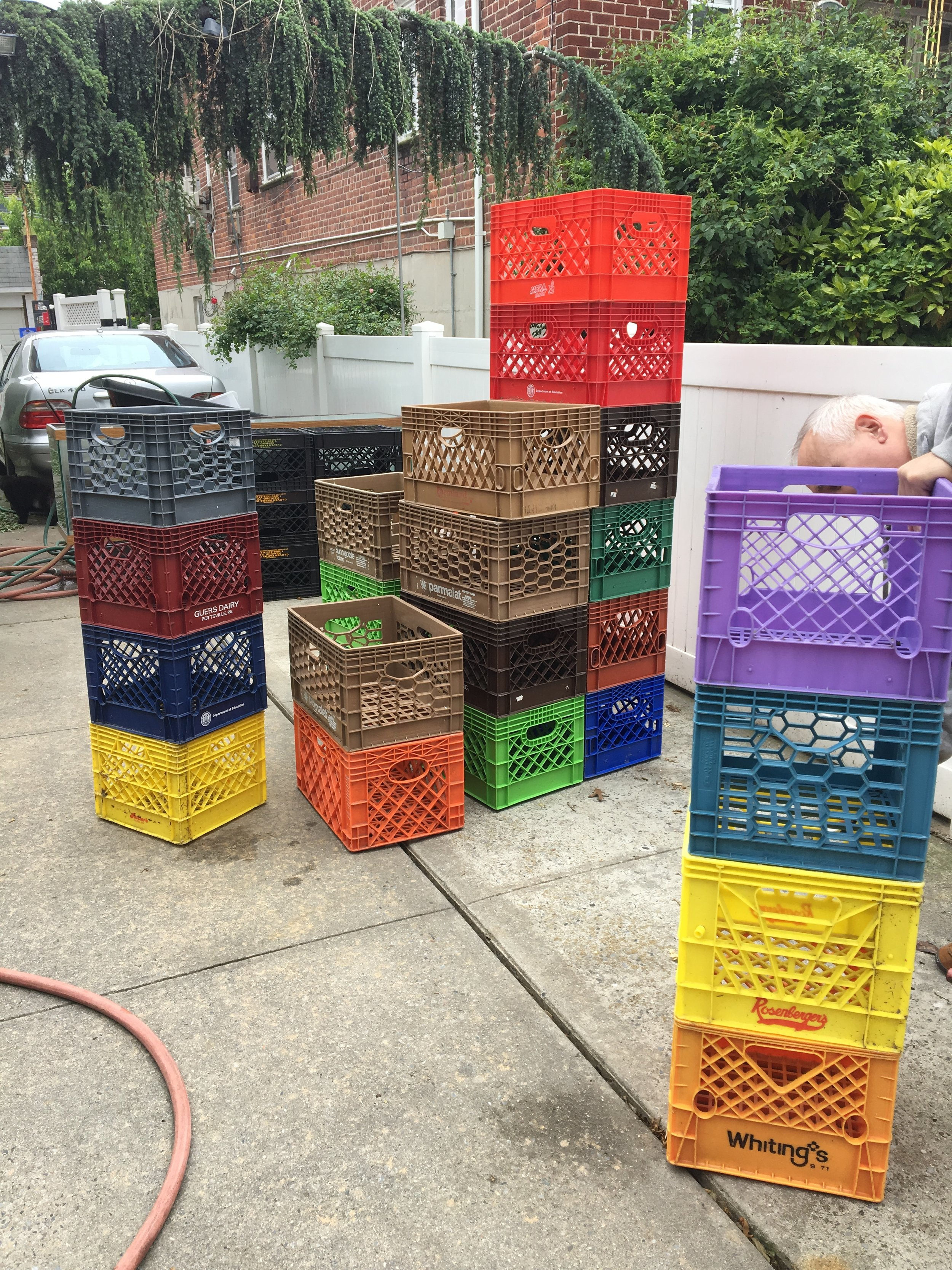 Second hand Used Milk Crates.JPG
