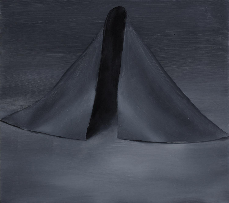 Almost a shroud (after Richard Serra)