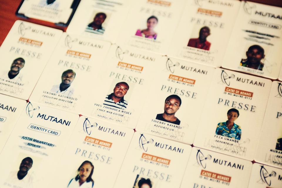 Press passes from Mutaani FM