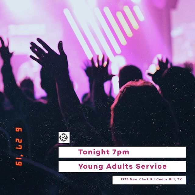 Tonight, is the night we all have been waiting for! 🚨YOUNG ADULTS SERVICE🚨  We start at 7pm and make sure to enter through the side 🚪. Ages 18-30  See you dar!  #cothya #community #summerhangs #comeasyouare #specialspeaker #itwillbeatreattoseeu