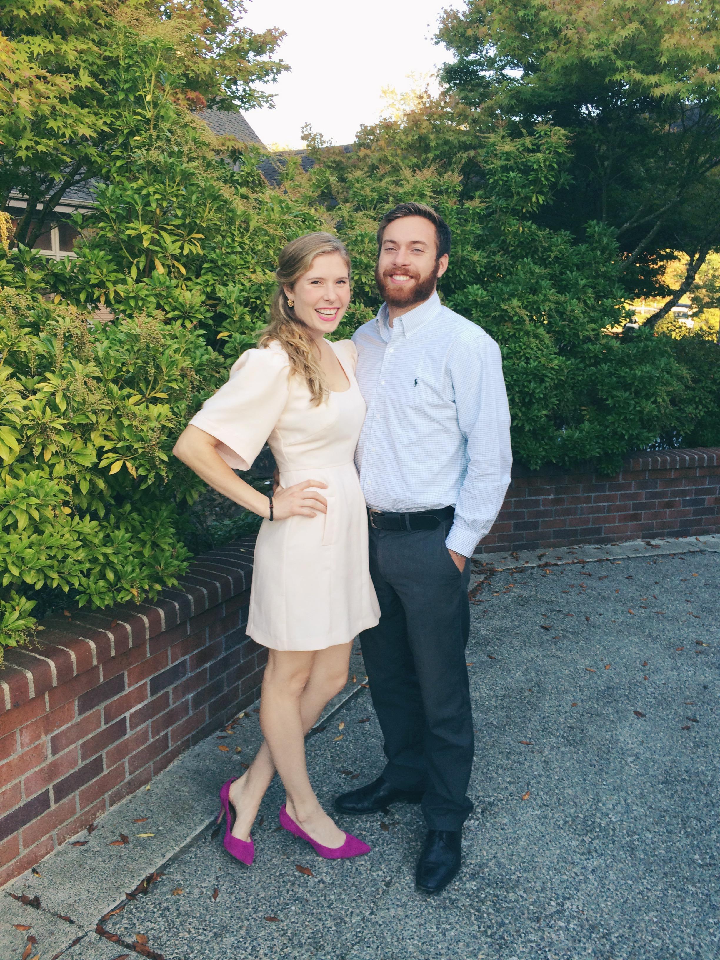 Me and Marsh at our last wedding of wedding season 2014
