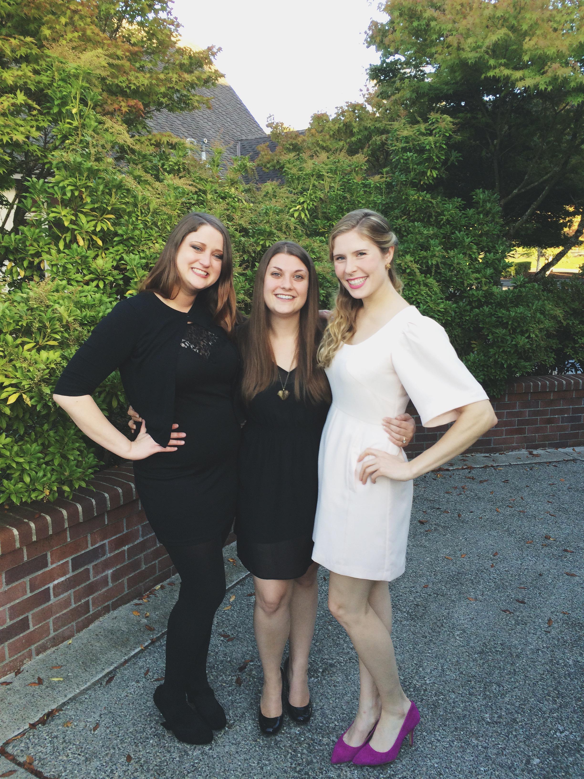 A'lise, Jenni, and Me (WSU Cougars Reunite!) =]