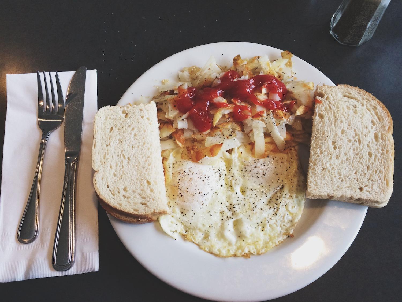 My hearty breakfast from  Ducktales