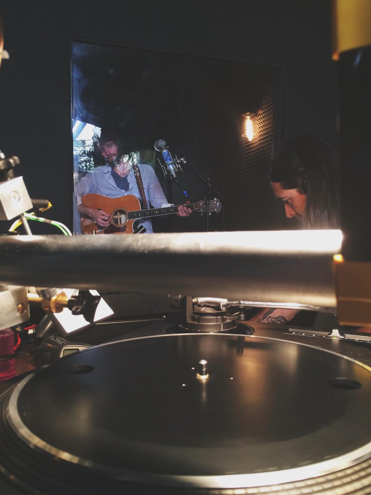 Fort Frances in the studio