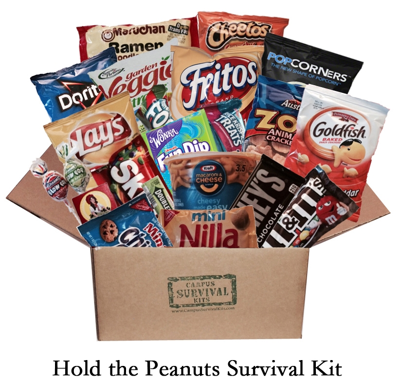 Hold the Peanuts Campus Survival Kit