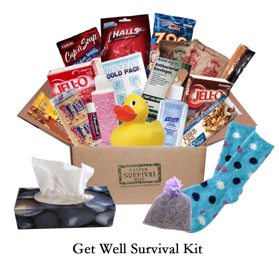 Get Well Campus Survival Kit