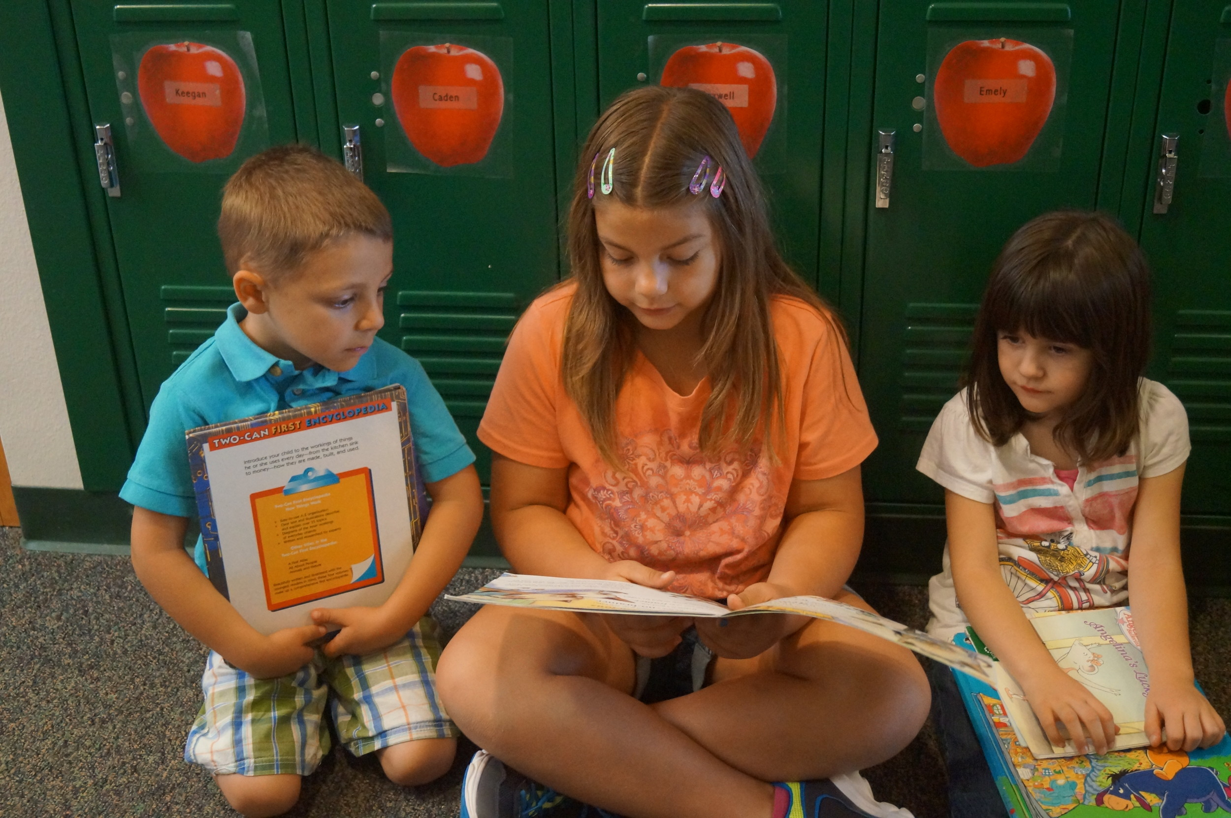 Mr. Sutton's reading buddies with Ethan and Ella copy.JPG