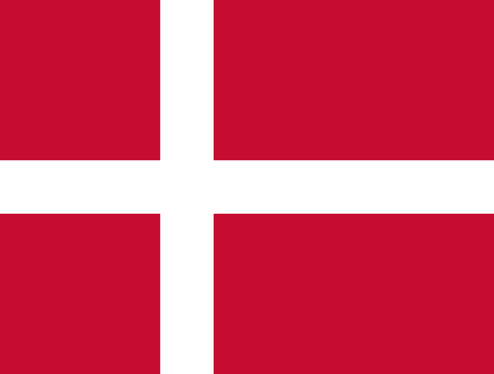 In our gratitude for Pastor Guldhammer, who was born in Denmark, we display this week the Danish flag, dressed in Christmas red and the Cross of our Lord.
