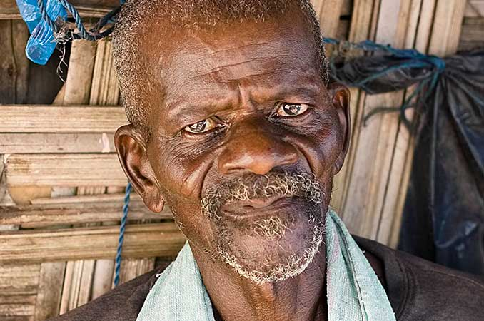 A Guinean man named Wonbin. Read the story about how Gospel Outreach impacted his life on their website at  goaim1.org .