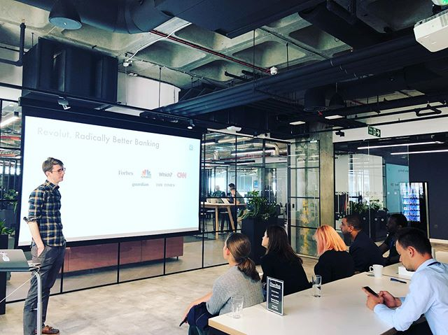 Exploring with #TechCityLive the #Revolut business model. Reaching 5m customers in 3 years of existence #hockeystick  #Agile FinTech innovators like Revolut will be best at fitting future customers' unique needs and offering niche proposals: #viralfeatures #multiplecurrency #cryptoexposure #fintech #innovation  #businessschool  #entrepreneurship #techcity