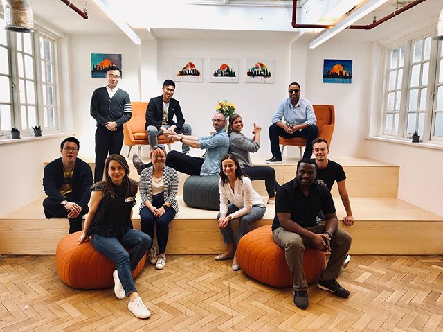 So much fun and so insightful visiting the new @officialcloudflare offices in London at the County Hall.  An amazing company with a considerate employee culture started by a #HarvardMBA following an MBA immersion to #SiliconValley.  Their head count stands at around 1,000 people now and every employee has access to the CEO's mobile number. Many thanks for facilitating this inspirational visit Michelle Zatlyn and Alonso Bustamante  #leadership #entrepreneurship #mbalife #techlife #cloudflare #betterinternet #unicorn  #neverstoplearning  #innovation #techconnect #techcity