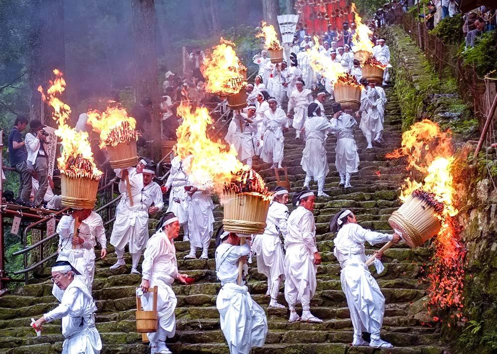Nachi Fire Festival in Wakayama.