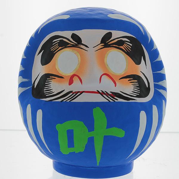 Blue Daruma Doll
