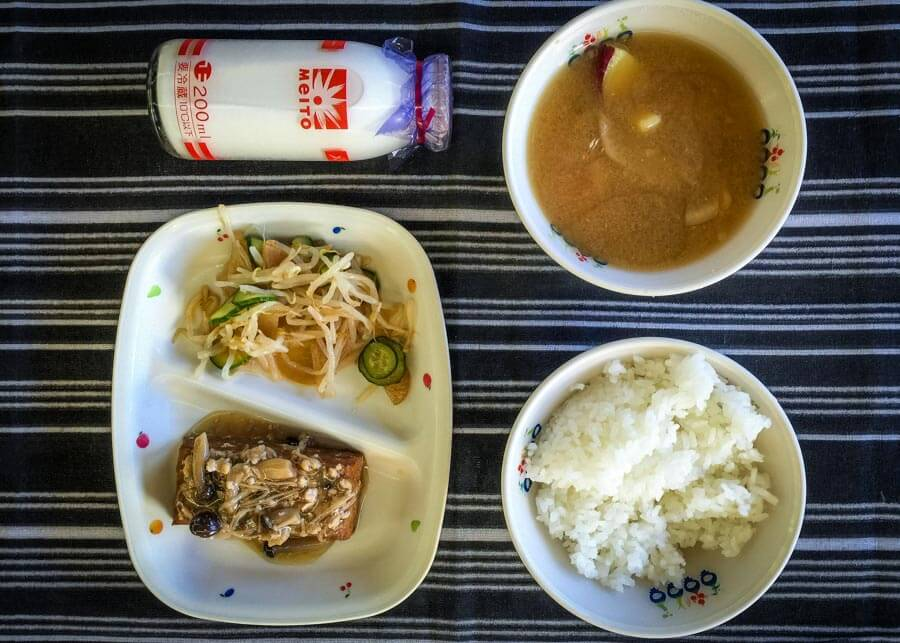 Japanese School Lunch Day 5