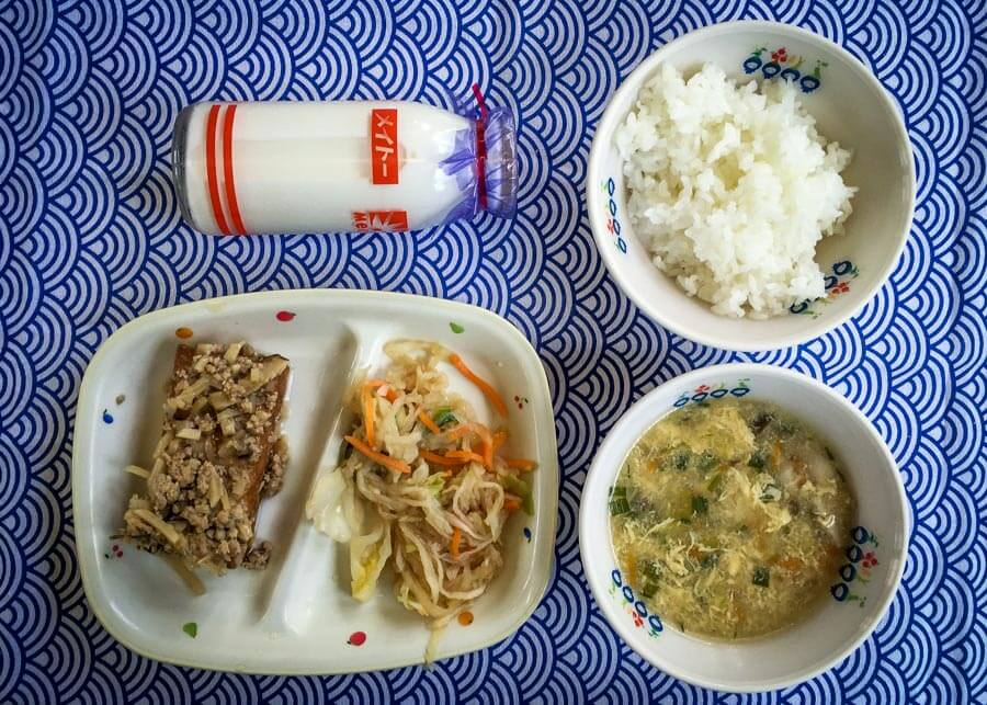 Japanese School Lunch Day 19