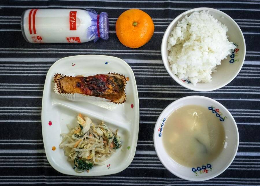 Japanese School Lunch Day 29