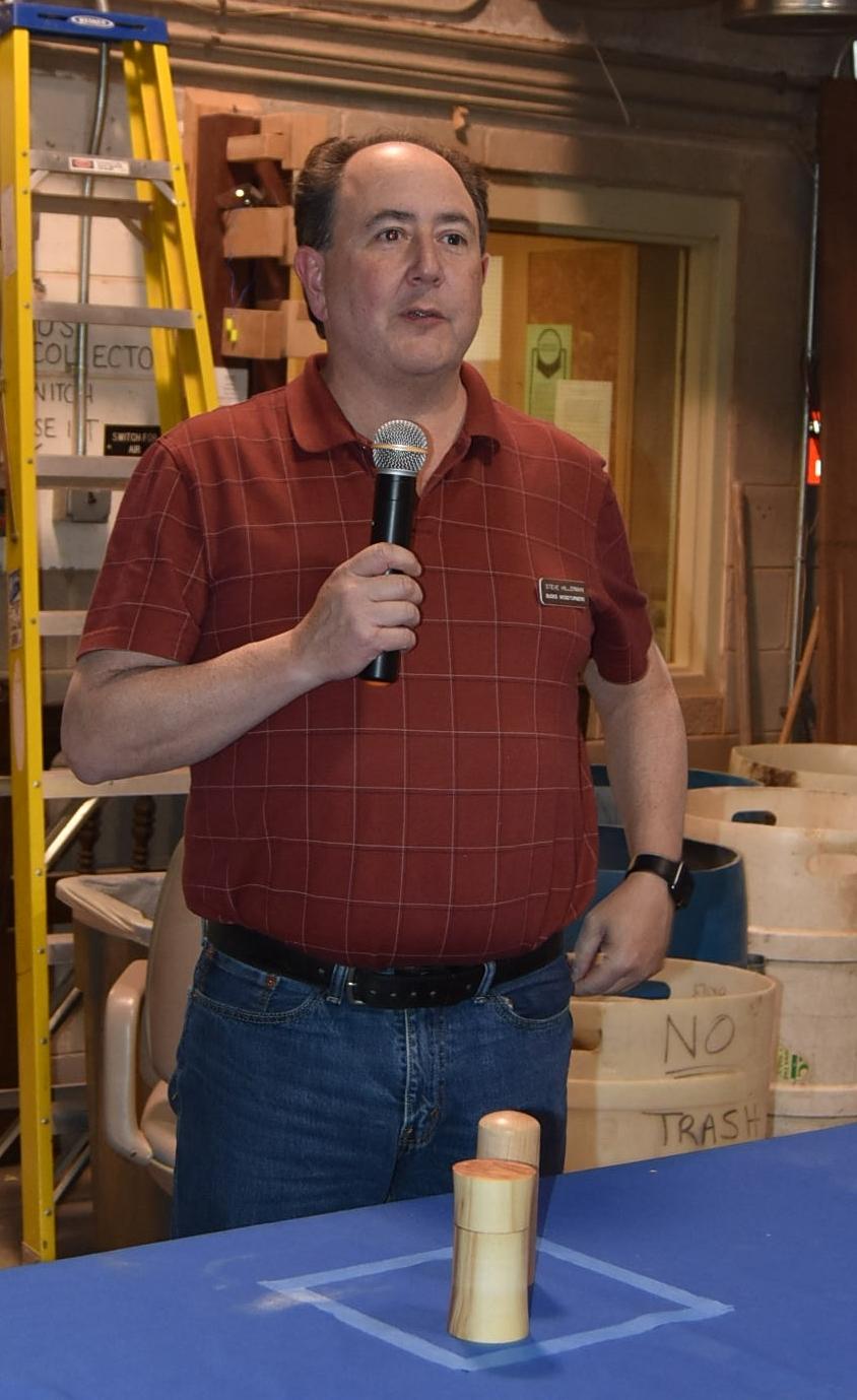Steve Hillerman, Librarian