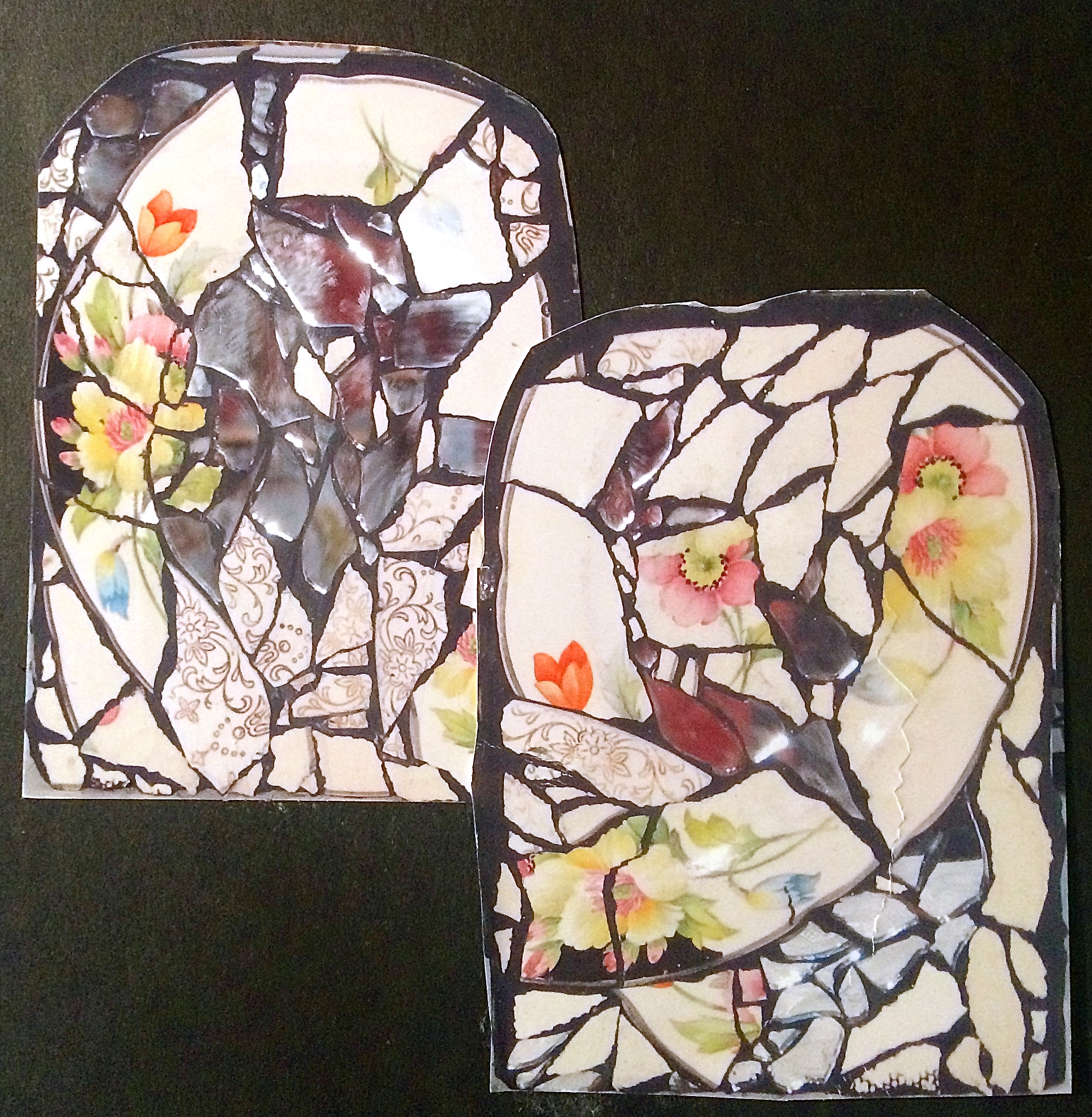 Mosaic Bookends