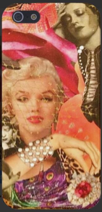 """Marilyn"" Iphone Case"
