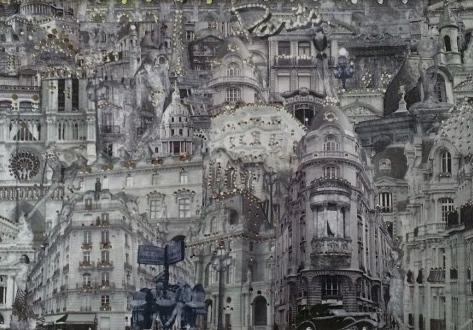 Paris Tempered Glass Cutting Board 8.5x11