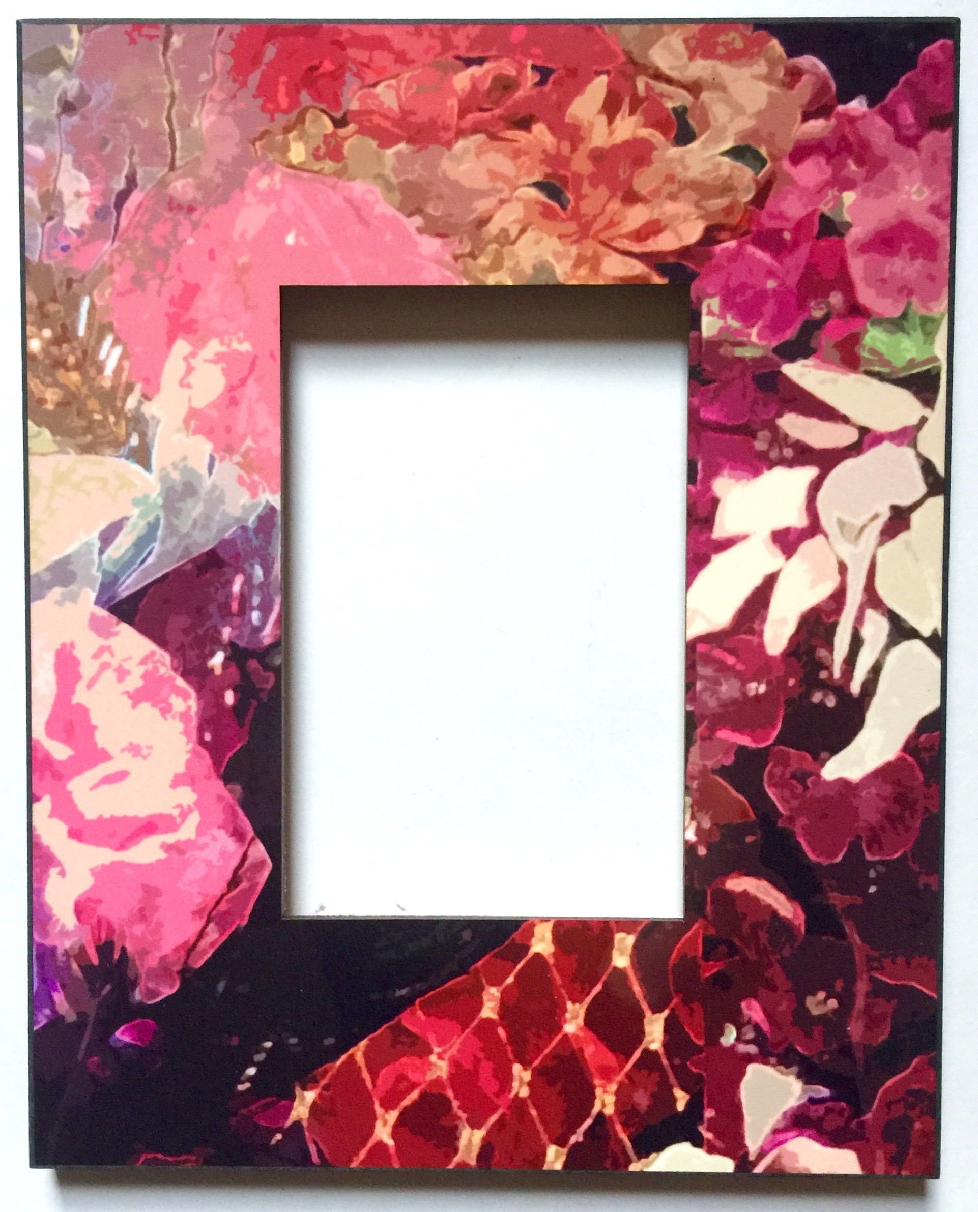 Floral Printed Frame 4x6 $65