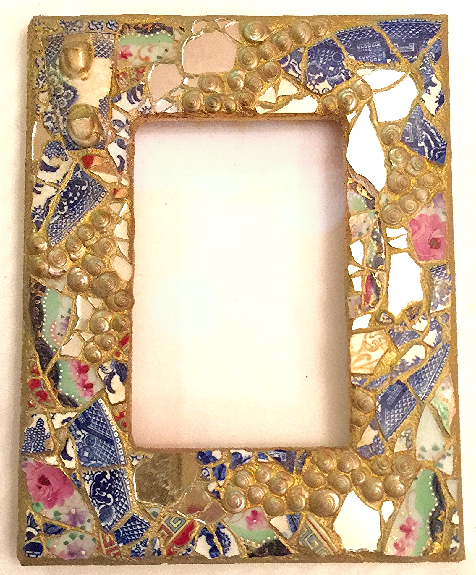 Mosaic Picture Frame 4x6 $65