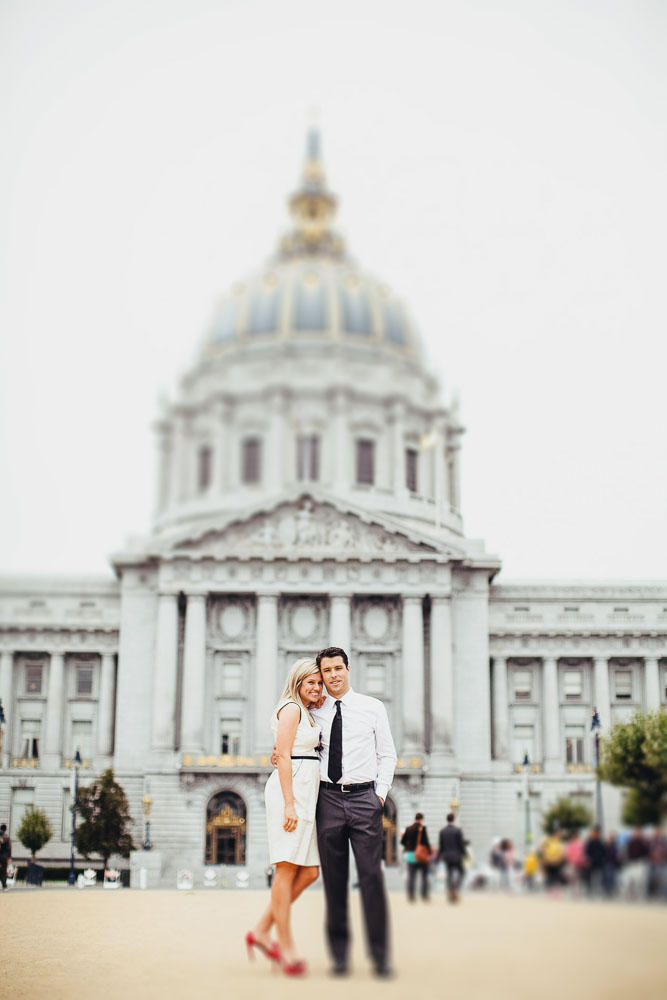 Portrait in front of SF City Hall
