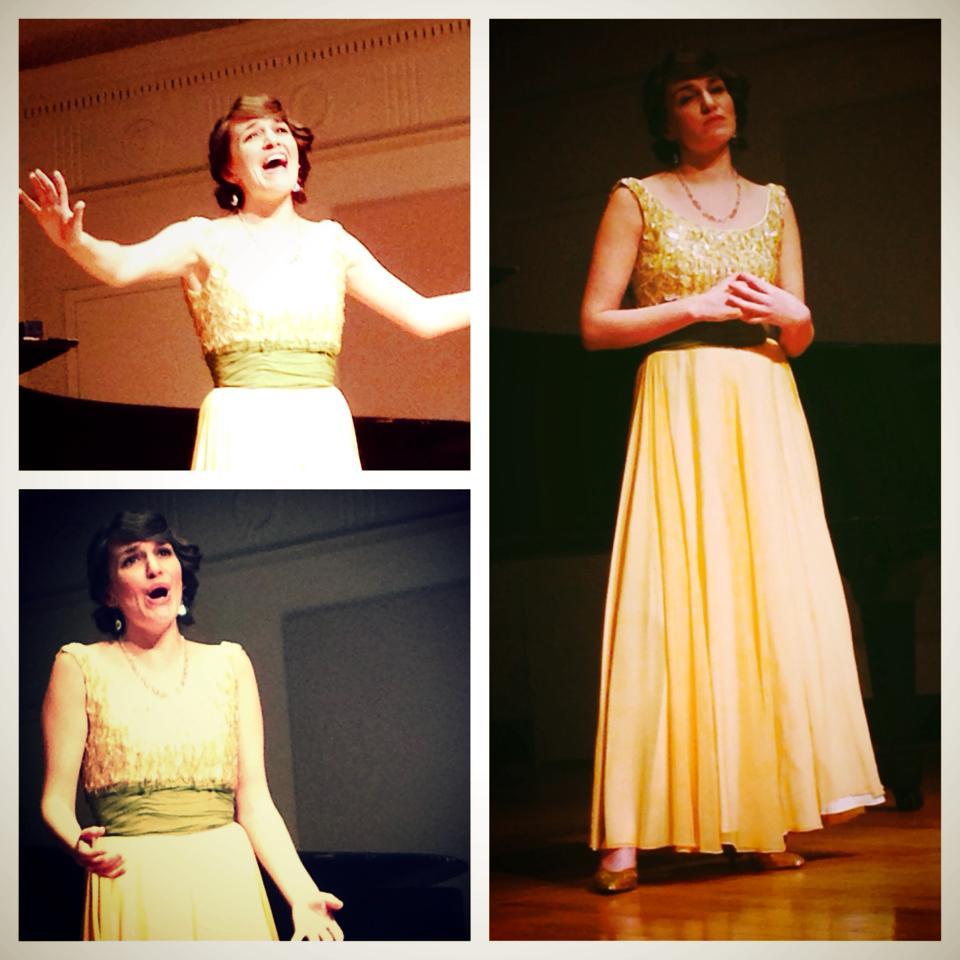 Taylor Ott's Master's recital, 2014