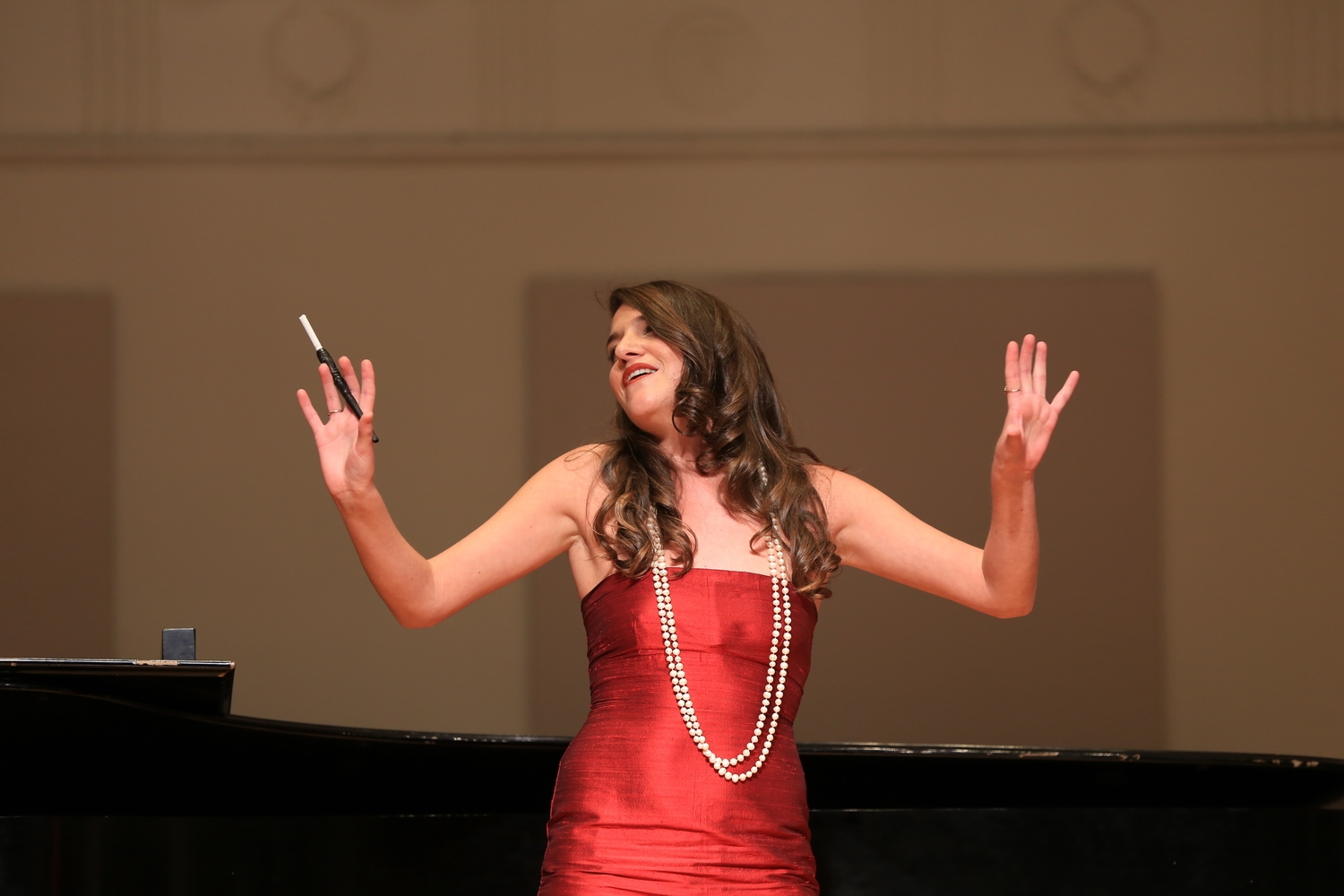 An Evening of Song at Mannes Concert Hall 2014