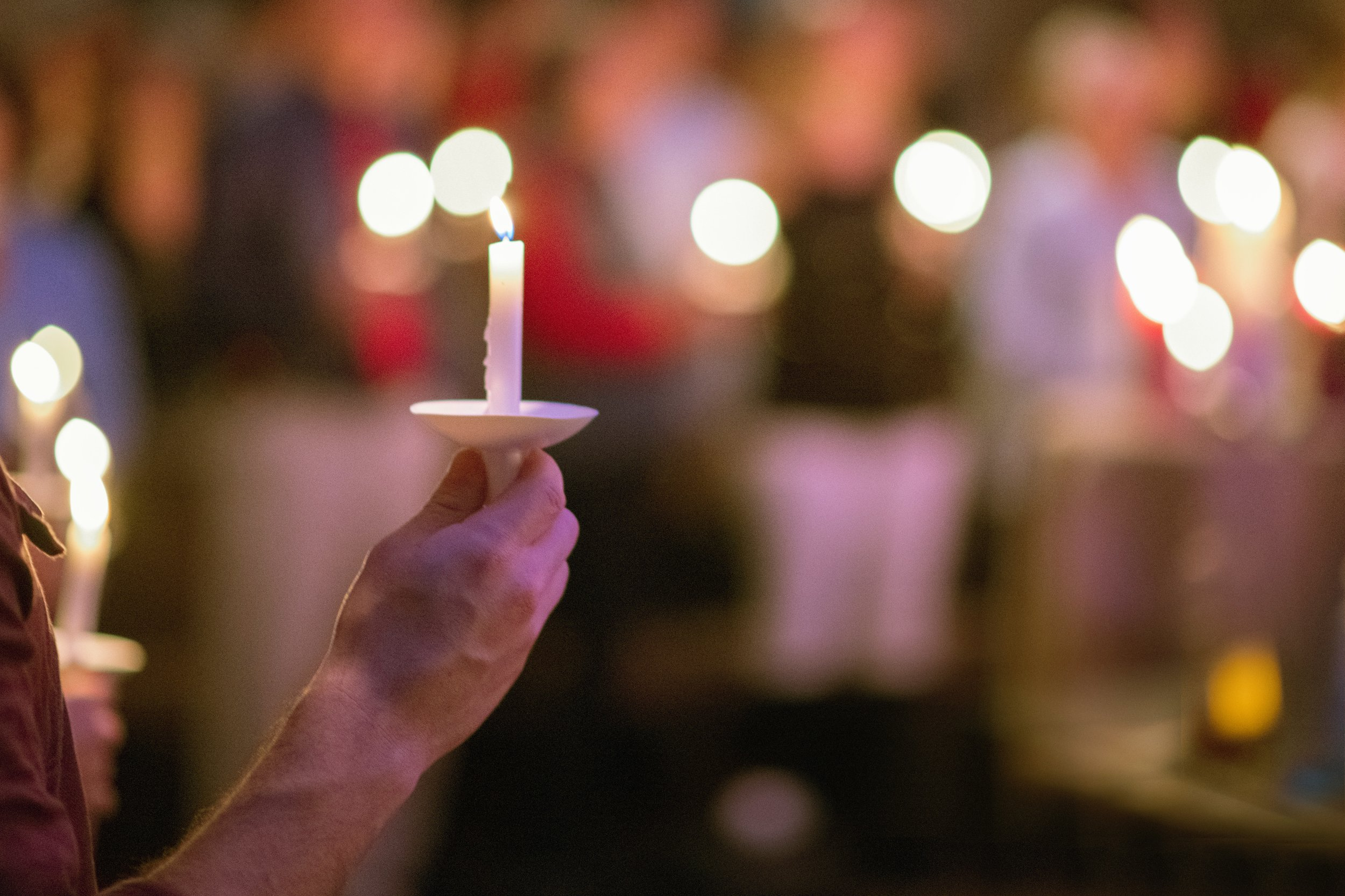 """Silent Night, Holy Night"" turns 200! At our 7 pm Christmas Eve service, Monday, Dec. 24, 2018, we will hear this beloved song's history, and the service will conclude as we sing it and pass the light of Christ throughout the sanctuary, one candle at a time."