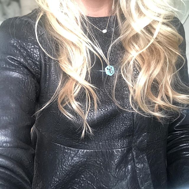@nellie_partow @karynstarr this pebbled leather peplum jacket is still my everything, after how many years?  It's the armour I wear when I need strength. ❤️