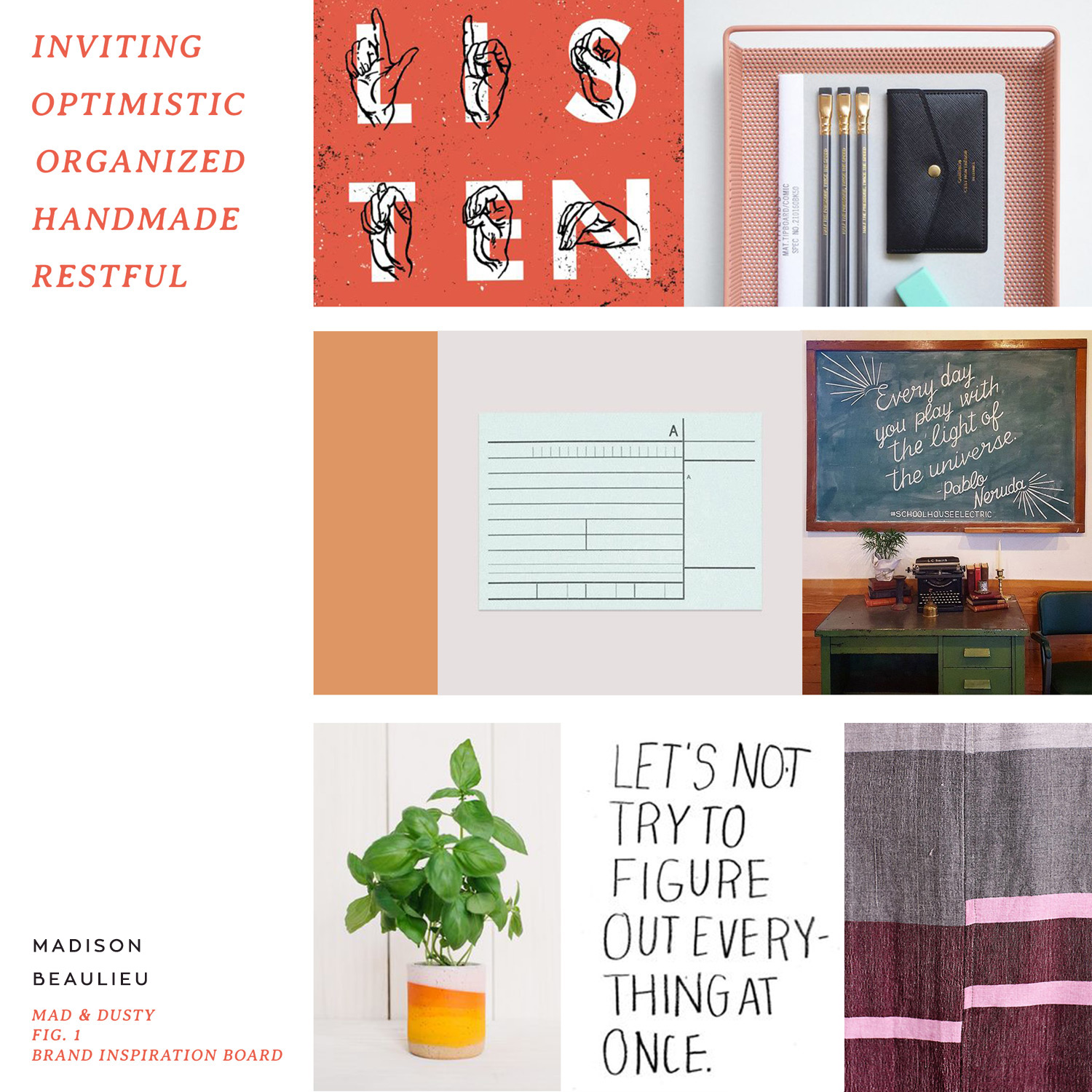 How to Build a Brand Inspiration Board