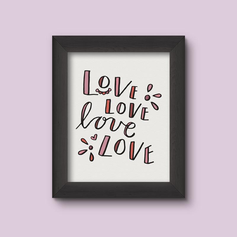 Summer Coloring Printables Love Love Love