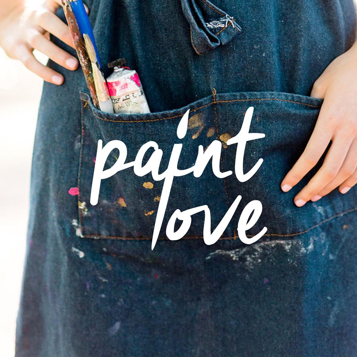 Nonprofit Graphic Design  Paint Love Case Study / Mad & Dusty