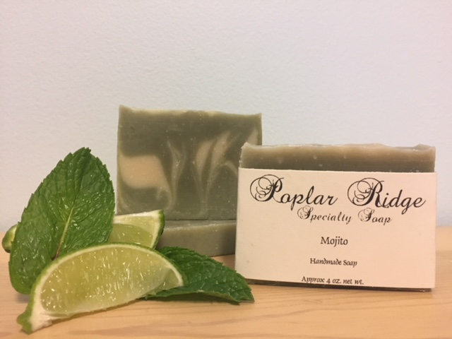 Makers Mash Mojito Soap From Poplar Ridge Specialty Soap