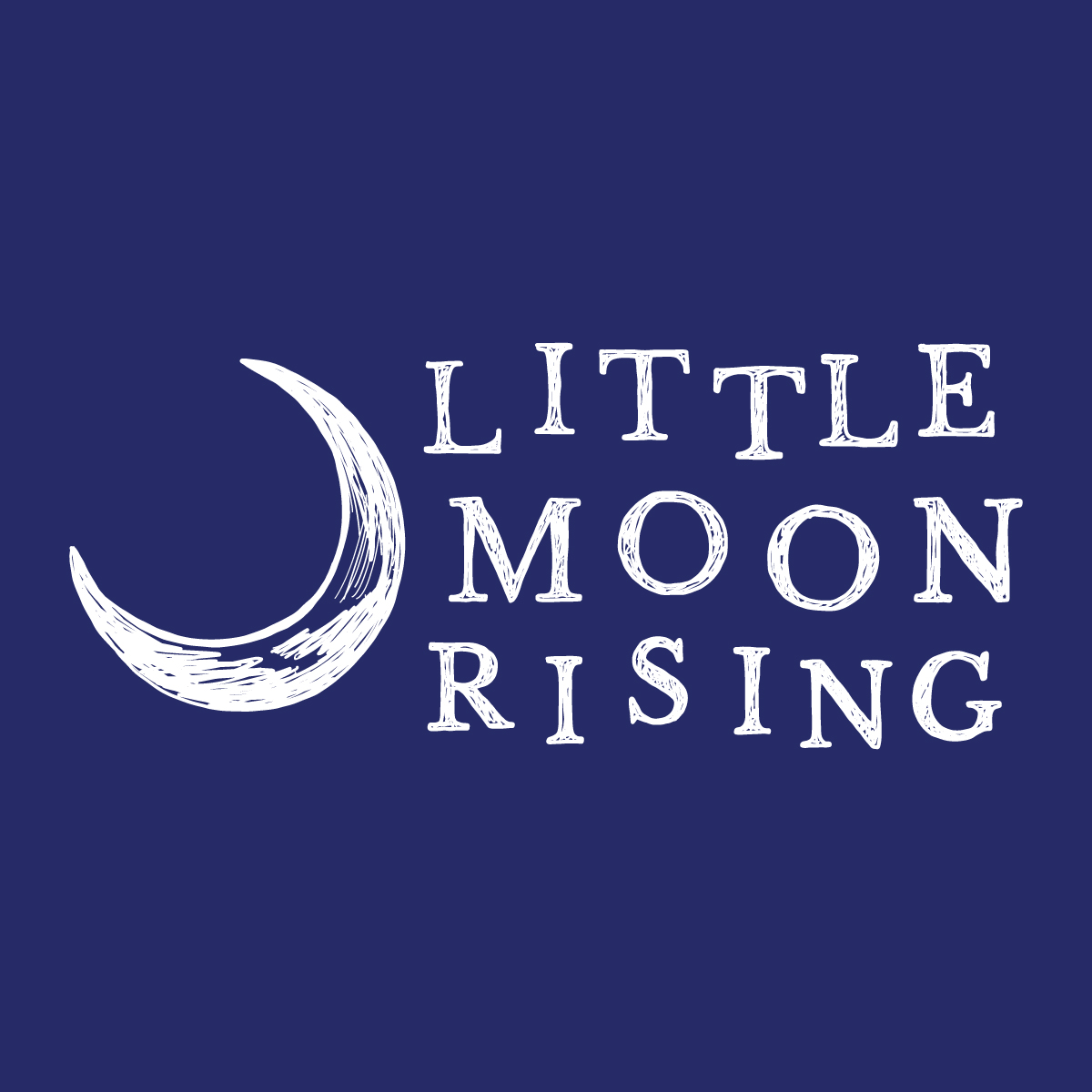 Little Moon Rising Logo Design