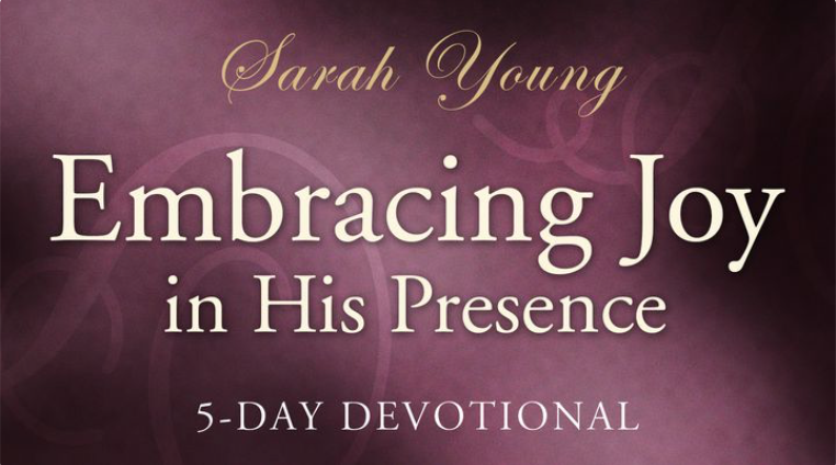 In the midst of life's difficulties, joy can sometimes feel out of reach. But Jesus has more for His followers than a life of striving, pain, and discontent. He offers life abundant, life to the fullest, life brimming with joy! In this devotional, bestselling author Sarah Young offers biblical reminders that will intimately connect you with Jesus and joy through life's circumstances.