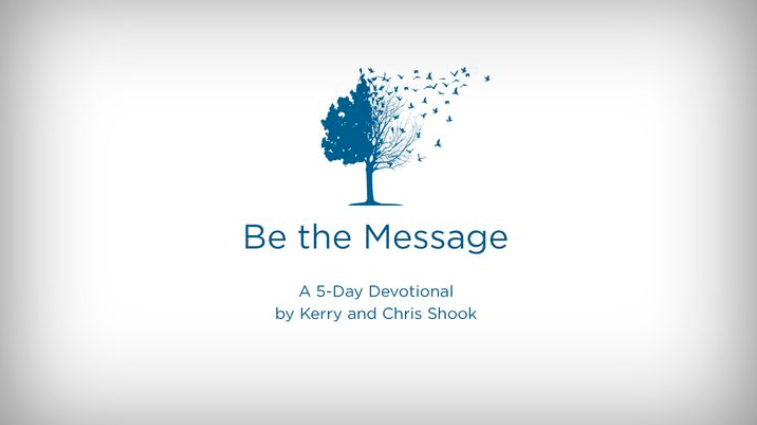What if the gospel was proclaimed more loudly by our lives, actions and choices than by the words we speak or sermons we share? This reading plan from Kerry and Chris Shook, authors of Be the Message, leads you towards a dynamic experience of living out the gospel in your life and the lives of others.