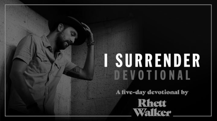 """This devotional focuses on areas of our lives that we need to surrender to God so that we can live the lives He wants us to live—lives of freedom, hope, and love. The devotionals are inspired by my song """"I Surrender"""" which draws from scripture after scripture that talk about trusting God and staying focused on Him. I invite you to join with me through these five days as we work on surrendering fear, distraction, control, and selfishness so God can use us to be the change for a better world."""