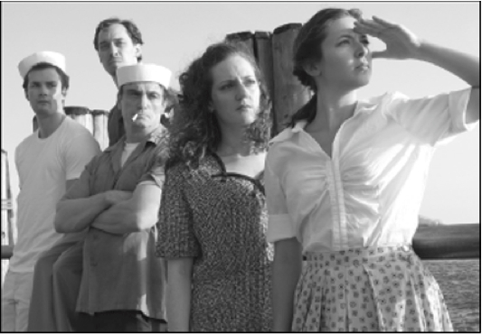 The cast of Purple Hearts