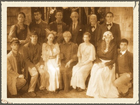 The cast of ICTC's production of, The Cherry Orchard