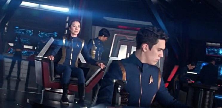 SAM VARTHOLOMEOS as Enson Connor on, STAR TREK: Discovery
