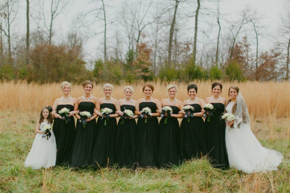 Terann &  Tyler | Bridesmaids: Alfred Angelo | Photo: Mattography