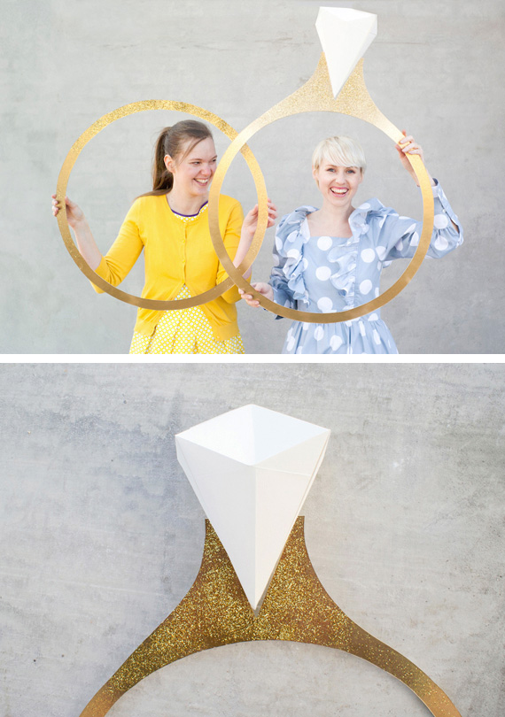 5 DIY Props To Make Your Wedding Photo Booth The Most Memorable