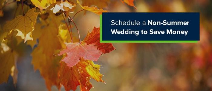 non-summer-wedding
