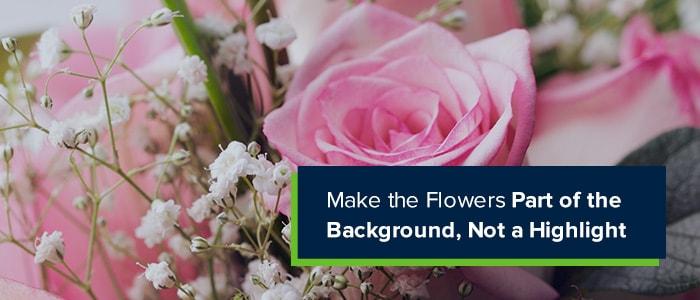 make-flowers-background